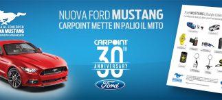 Offerta Ford Carpoint giugno 2016 e concorso Vinci una Mustang