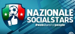 Nazionale Socialstars: iniziativa ed evento 30 giugno