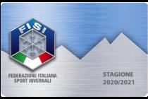Tesseramento Sci Club – FISI 2020-2021